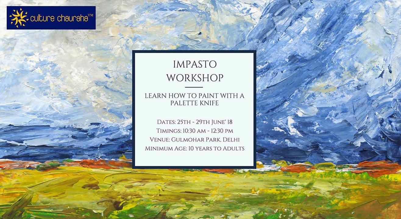 Impasto Workshop with Acrylics