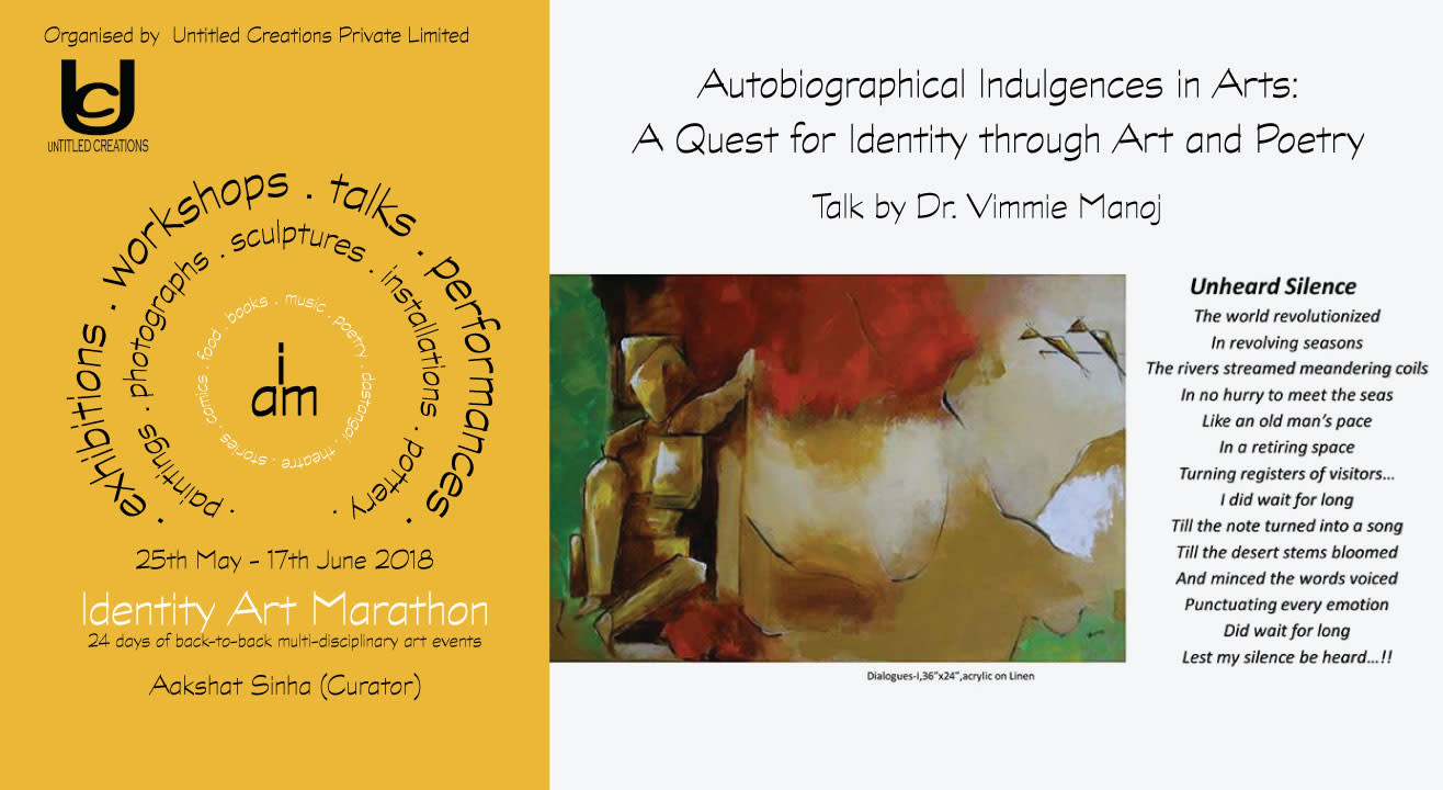Quest for Identity through Art & Poetry by Dr. Vimmie Manoj