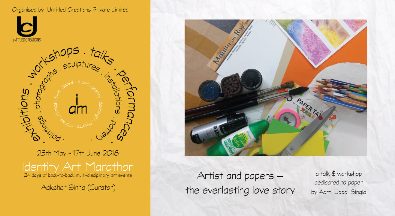 Artists and Papers by Aarti Uppal Singla