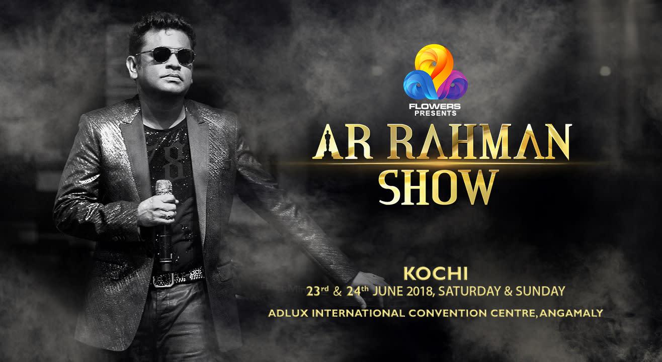 AR Rahman, LIVE in Kochi