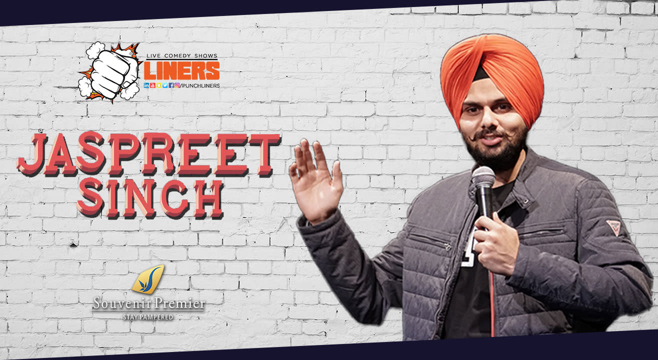 Standup Comedy Show ft. Jaspreet Singh in Jaipur