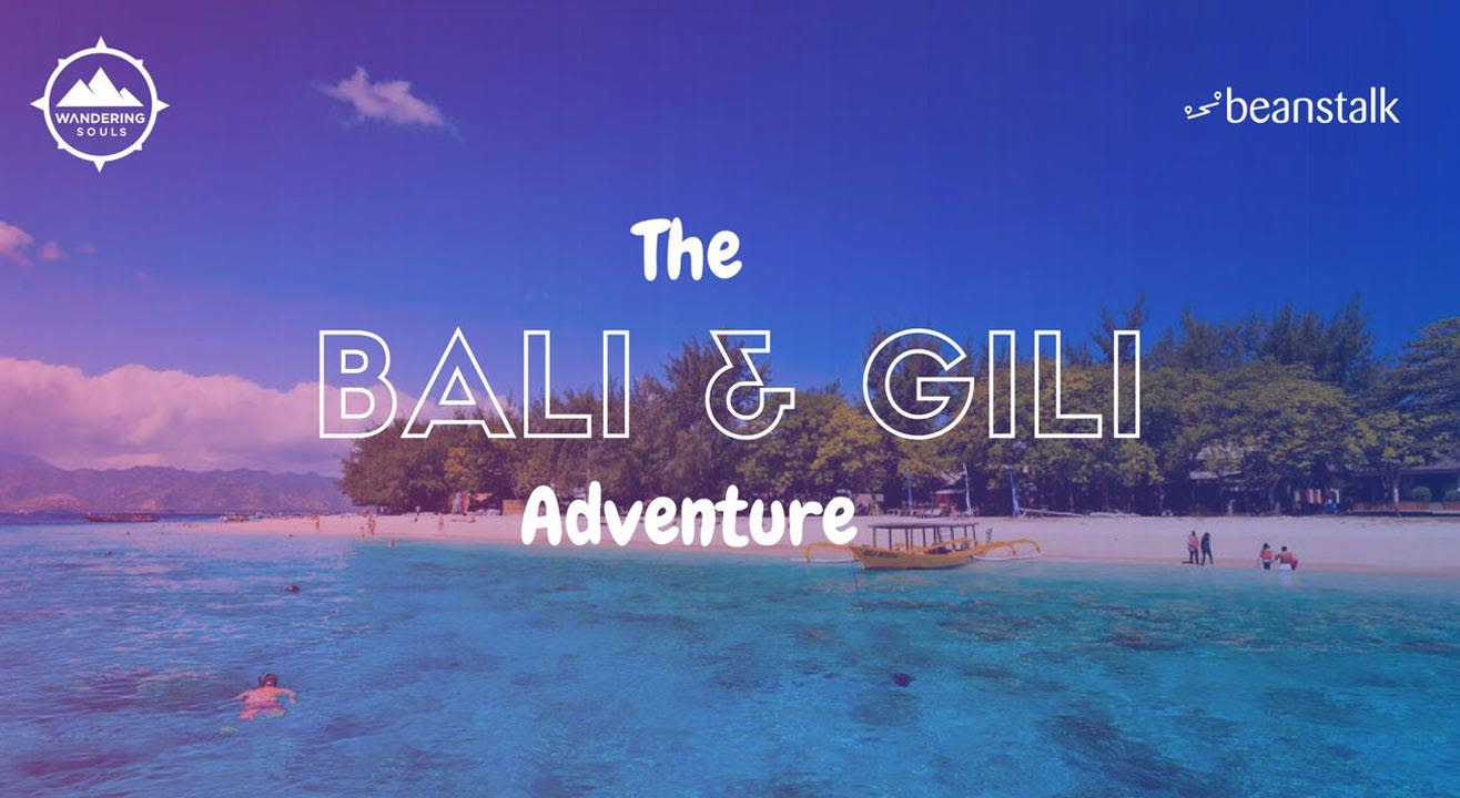 The Bali & Gili Adventure