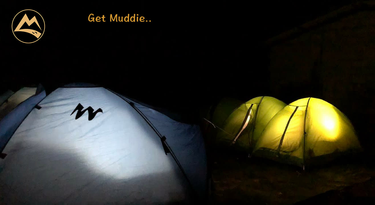 Buttermilk Waterfalls, Camping & Trekking in Chikmagalur | Muddie Trails