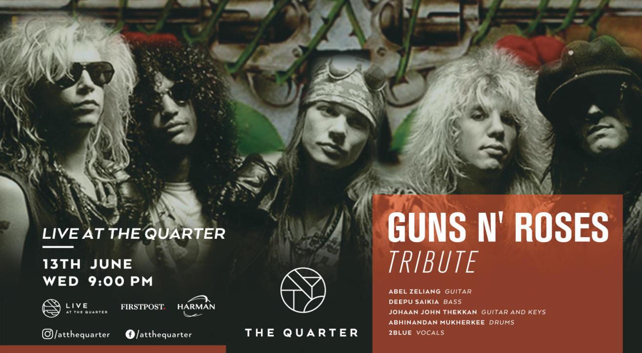 Guns N' Roses Tribute at The Quarter