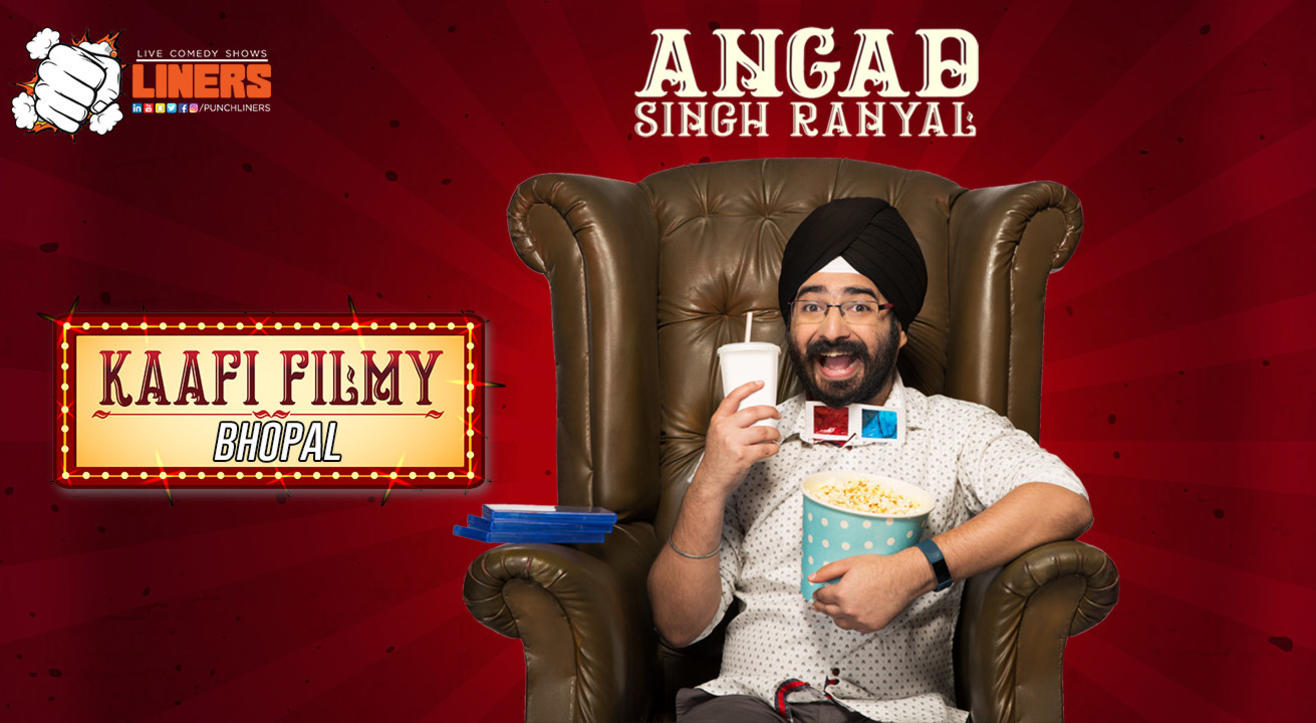 Punchliners: Standup Comedy Show ft. Angad Singh Ranyal in Bhopal