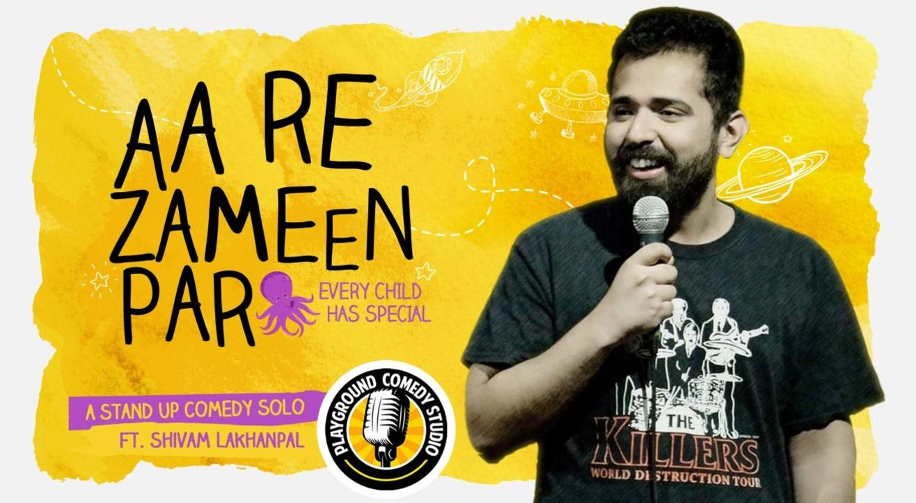 Aa Re Zameen Par, A Stand Up Comedy Solo