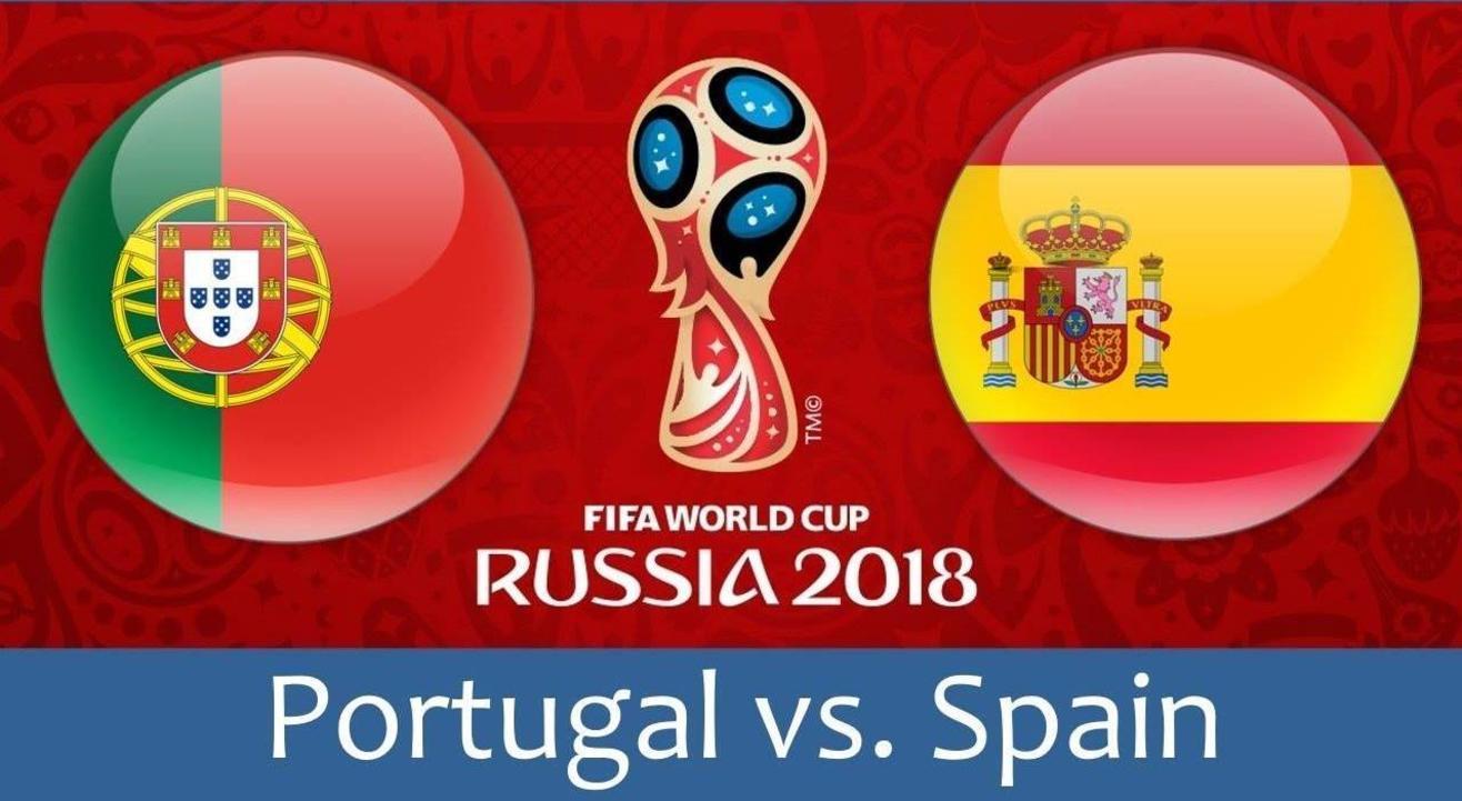 Spain Vs Portugal LIVE at the Quarter