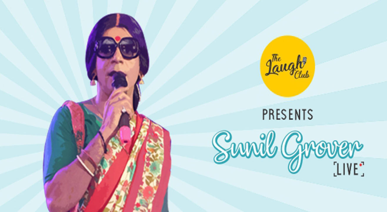 The laugh club presents Comedy night with Sunil Grover