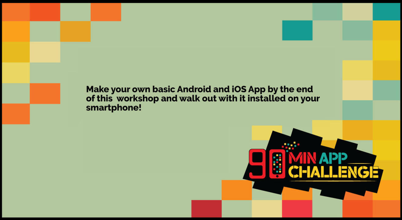 The 90 minute App Challenge - Free App Making Workshop