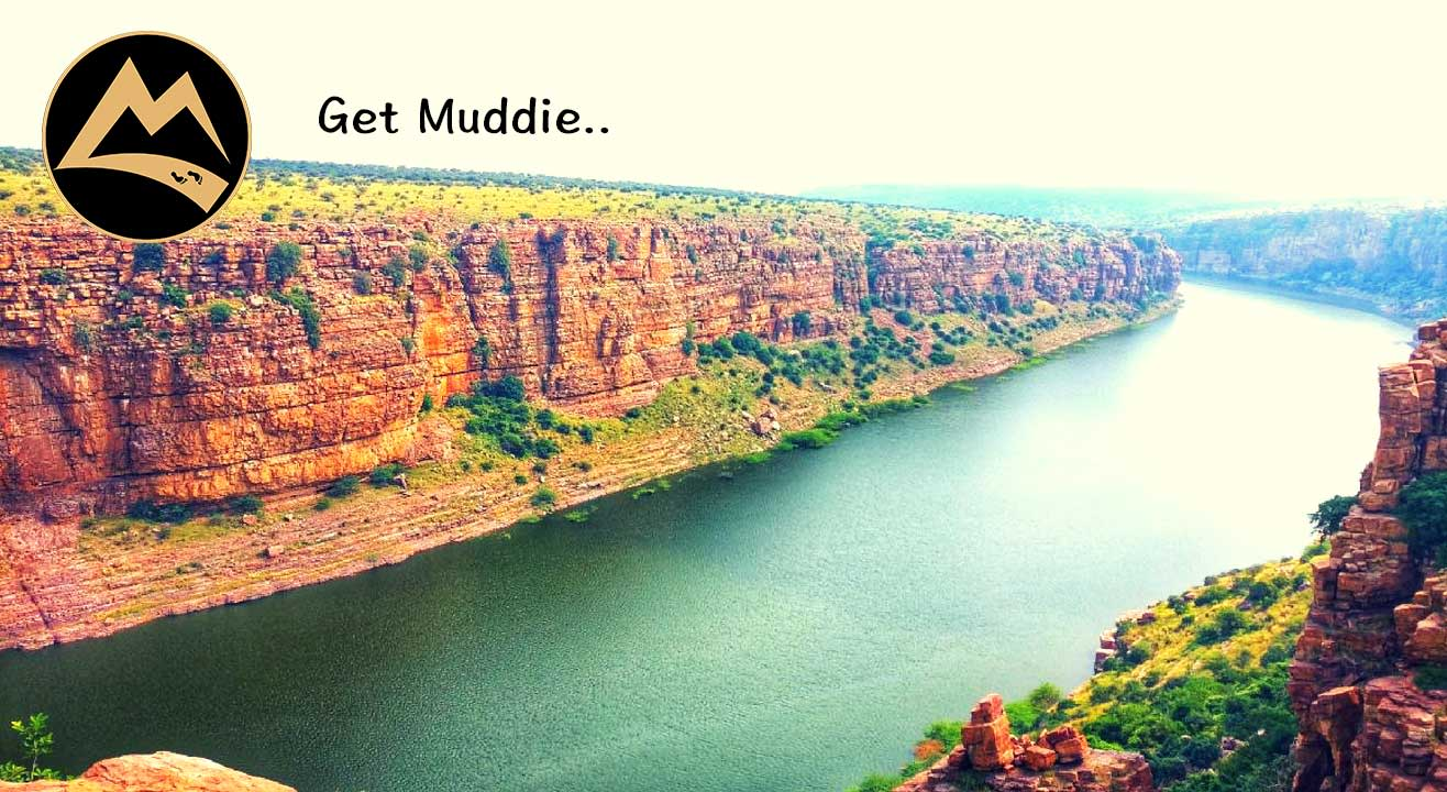 The Gorgeous Gandikota - Camping with Coracle in Penna River| Muddie Trails