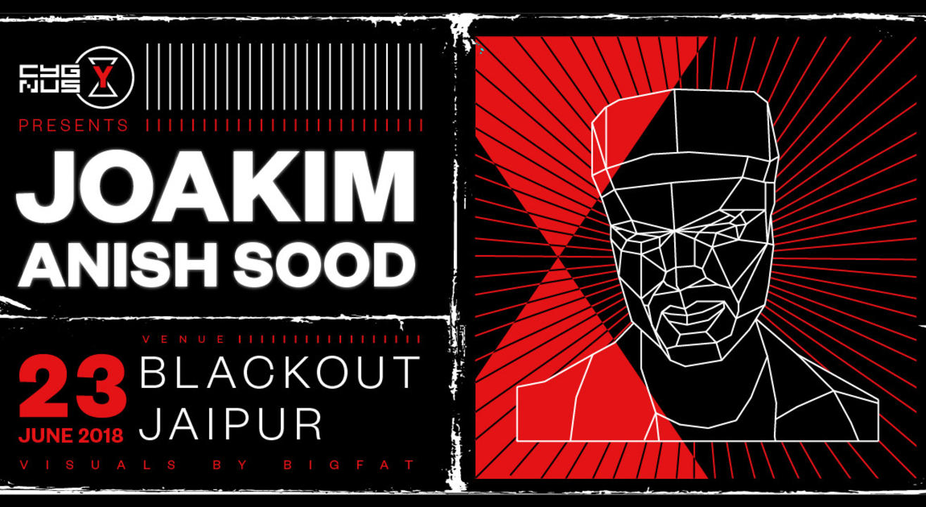 Cygnus Y Presents: Joakim Live in Jaipur