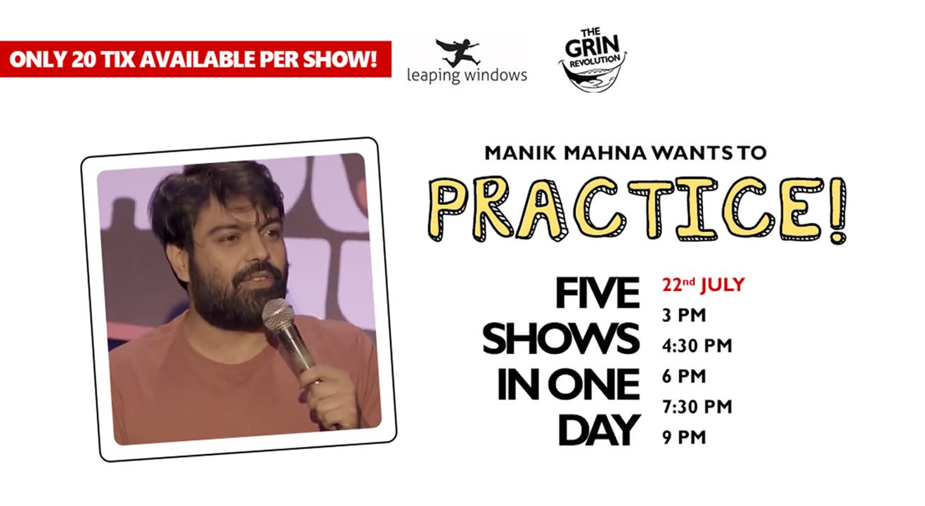 Grin Revolution: Practice w/ Manik Mahna