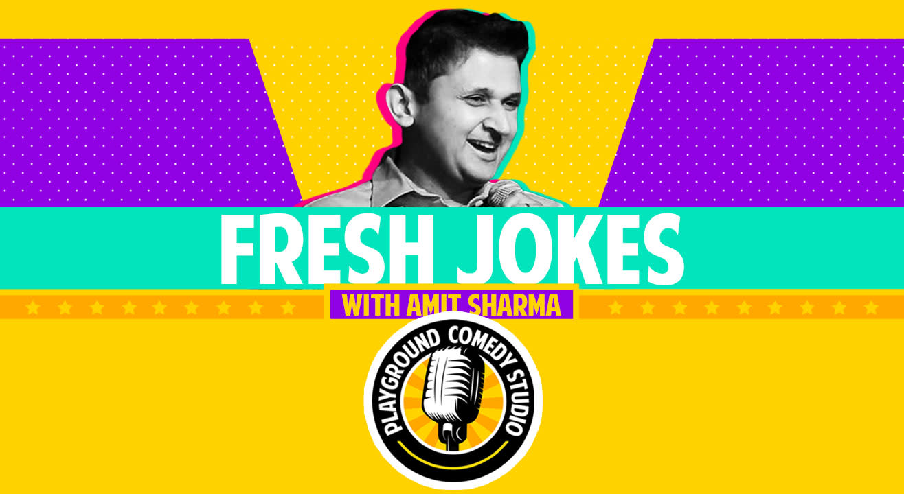 Fresh Jokes, Comedy Open Mic