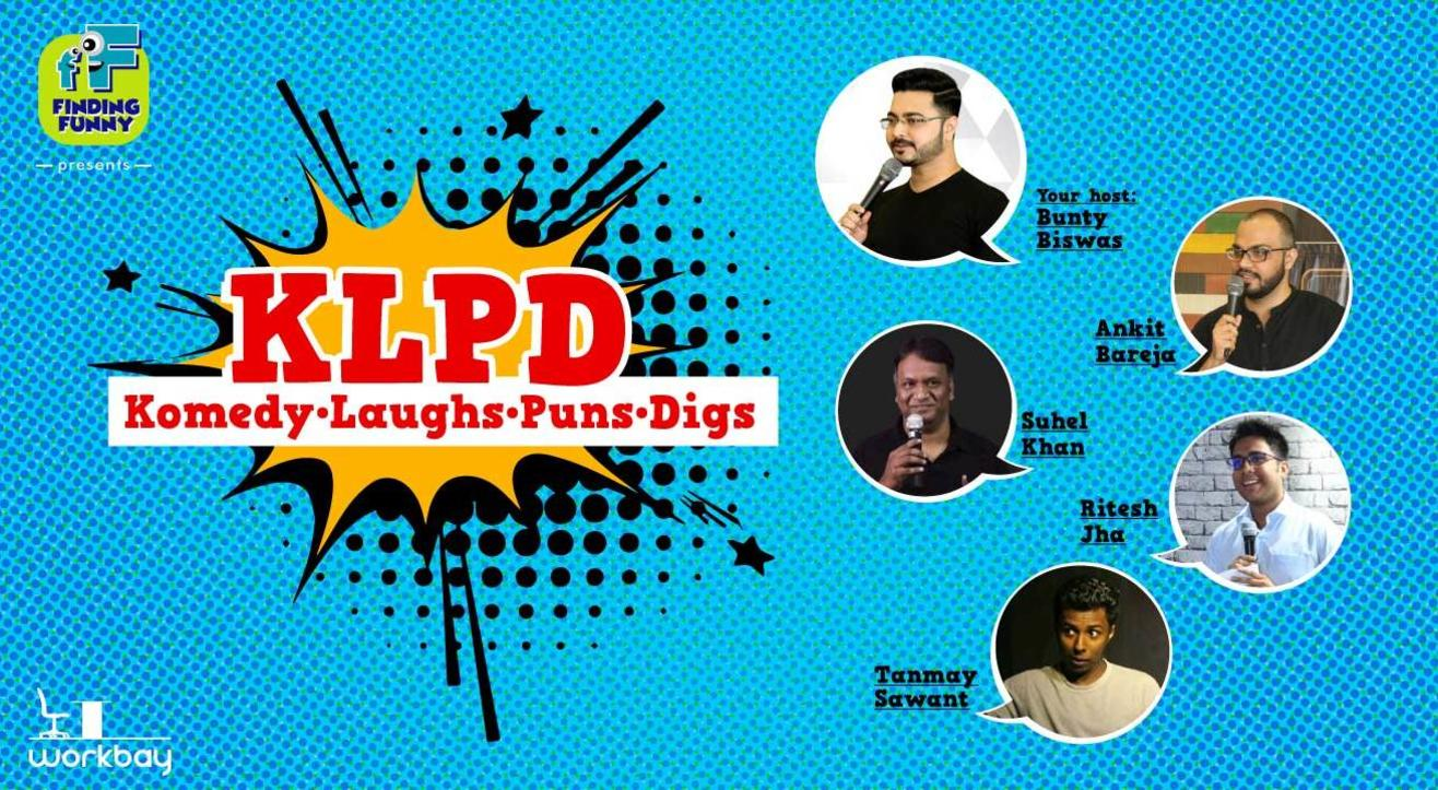 KLPD #03 - Comedy Open Mic by Finding Funny