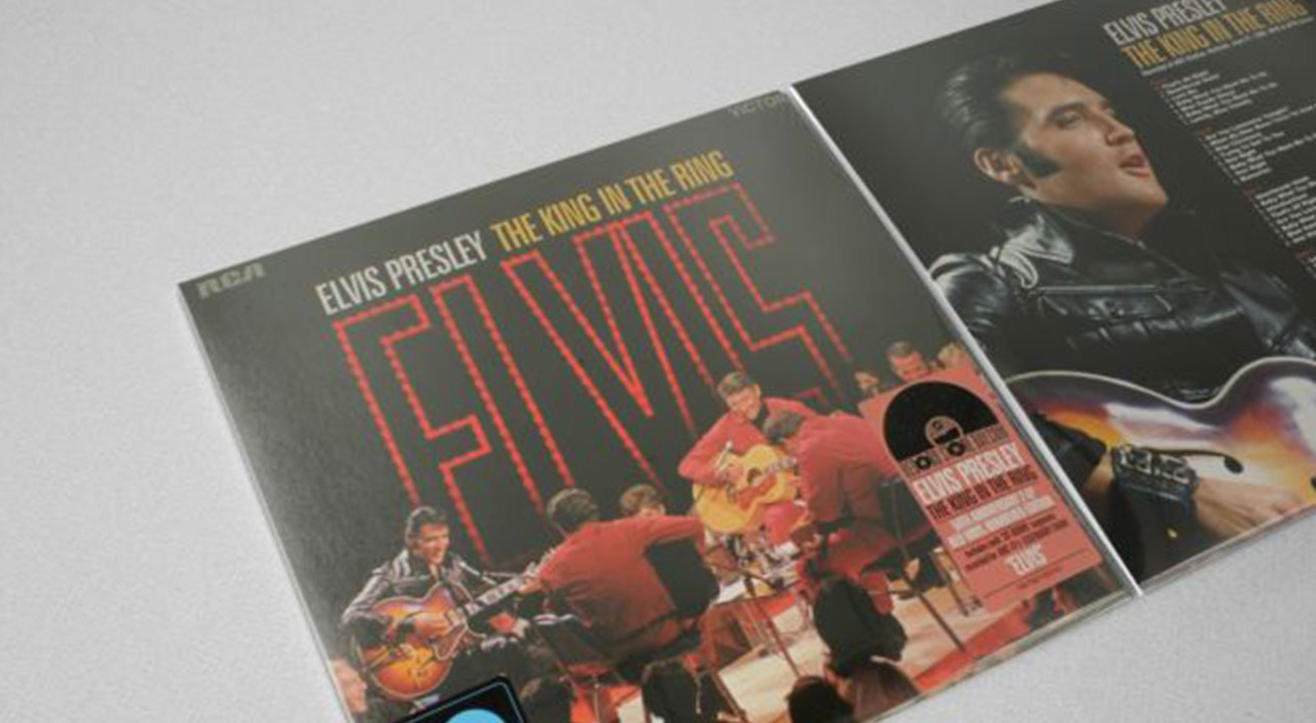 Elvis Presley: King in The Ring - Vinyl Listening Session at The Quarter