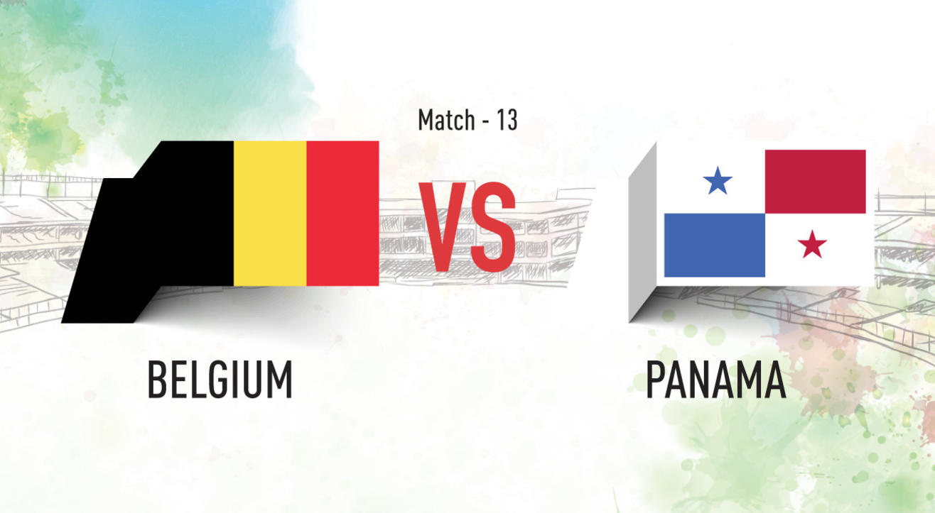 Belgium vs Panama Screening at Aqaba