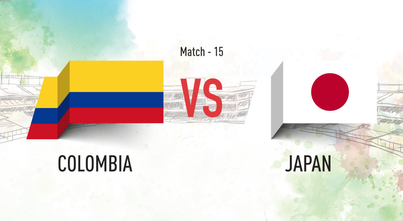 Colombia vs Japan Screening at Aqaba