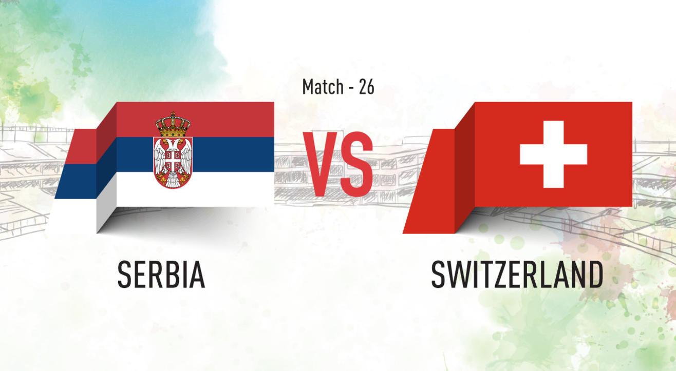 Serbia vs Switzerland Screening at Aqaba