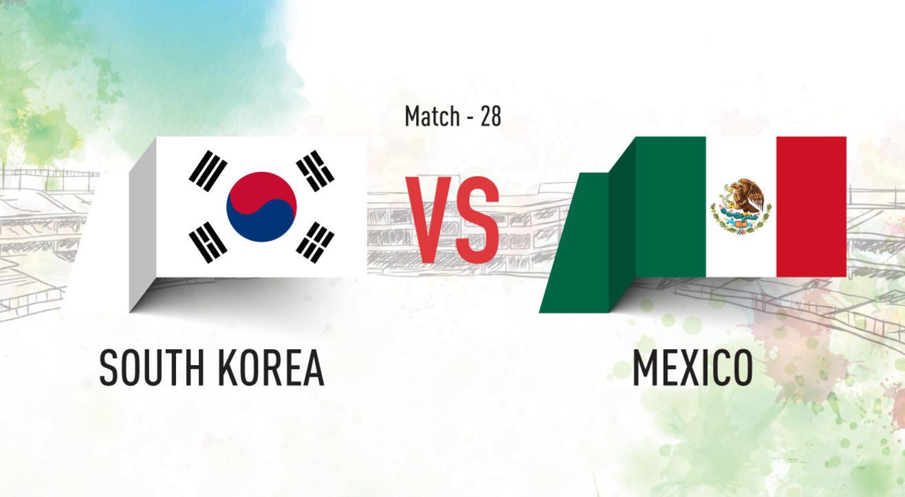 South Korea vs Mexico Screening at Aqaba