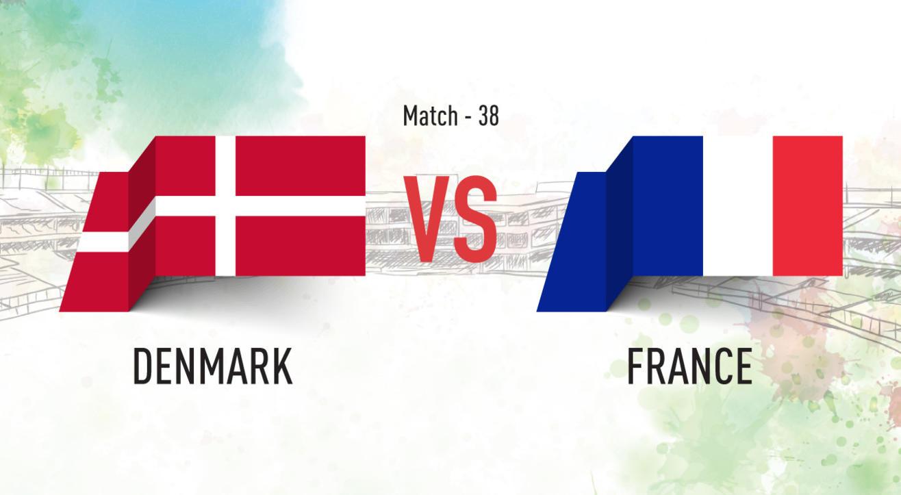Denmark vs France Screening at Aqaba