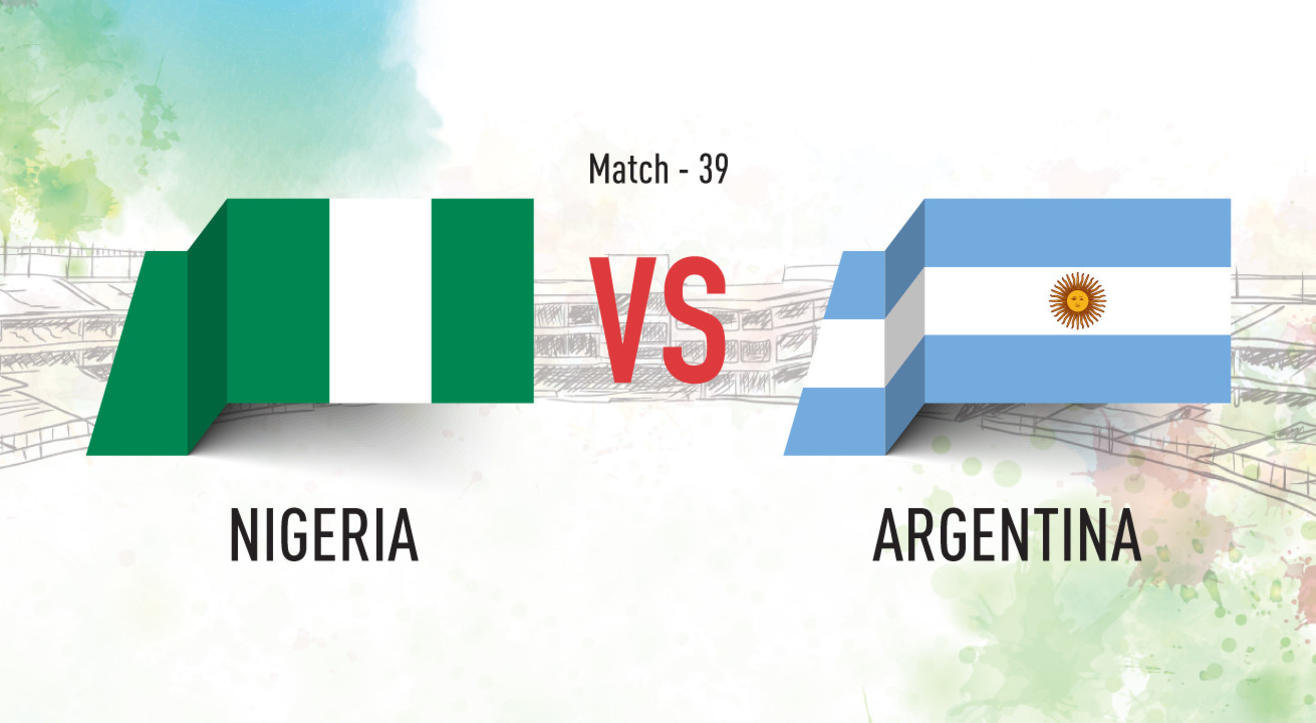 Nigeria vs Argentina Screening at Aqaba