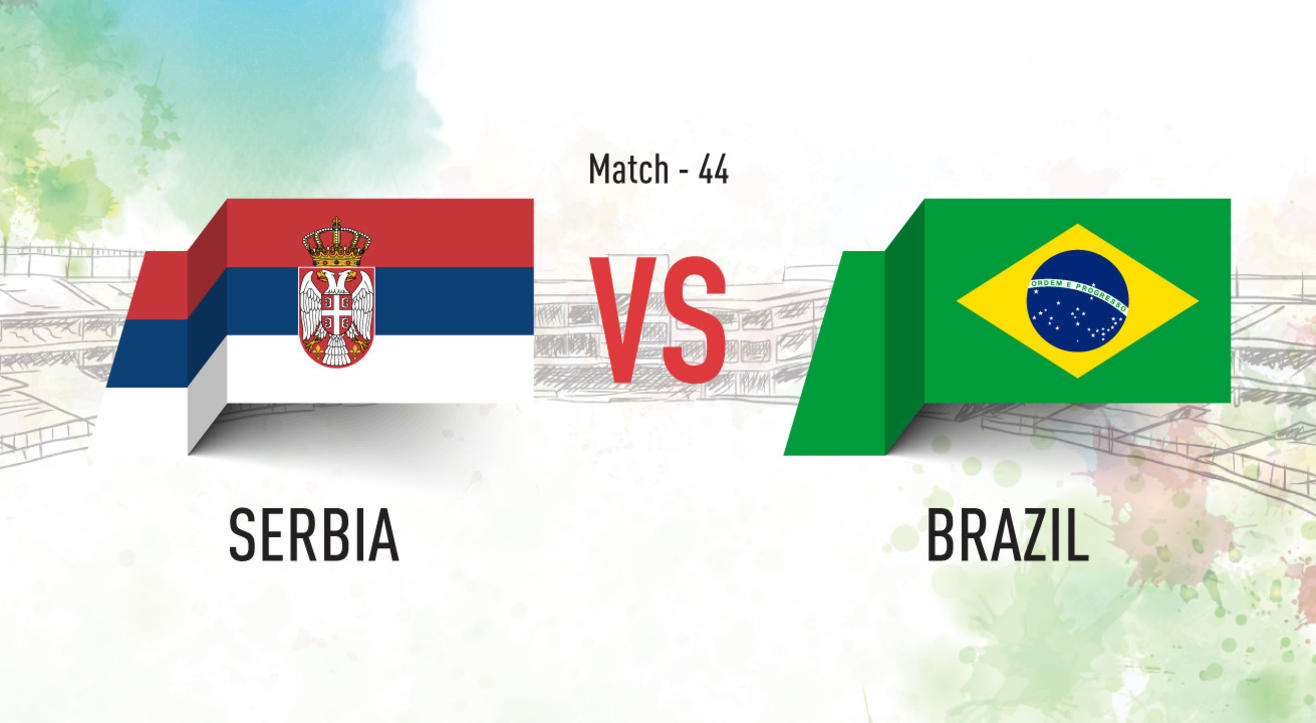 Serbia vs Brazil Screening at Aqaba