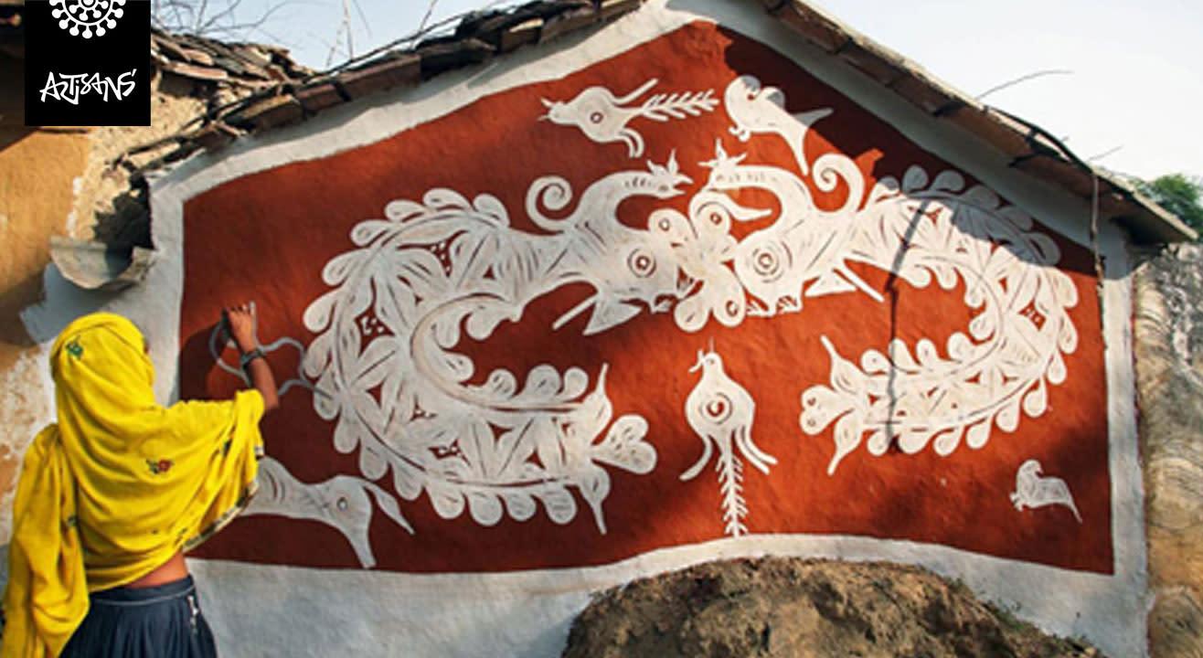 Mandana Art Workshop by Lakhichand Jain