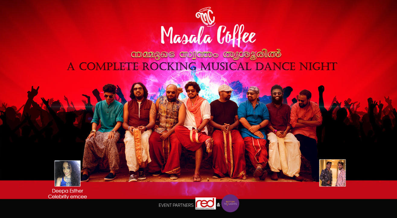 Masala Coffee Mega Musical Night