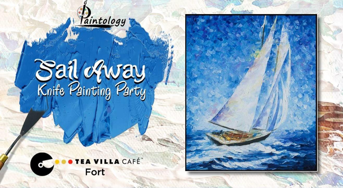 'Sail Away' Knife Painting Workshop