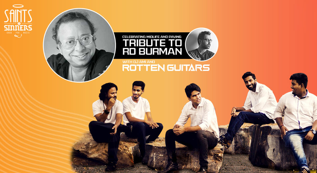 Celebrating music with tribute to RD Burman by DJ Ami and a live band