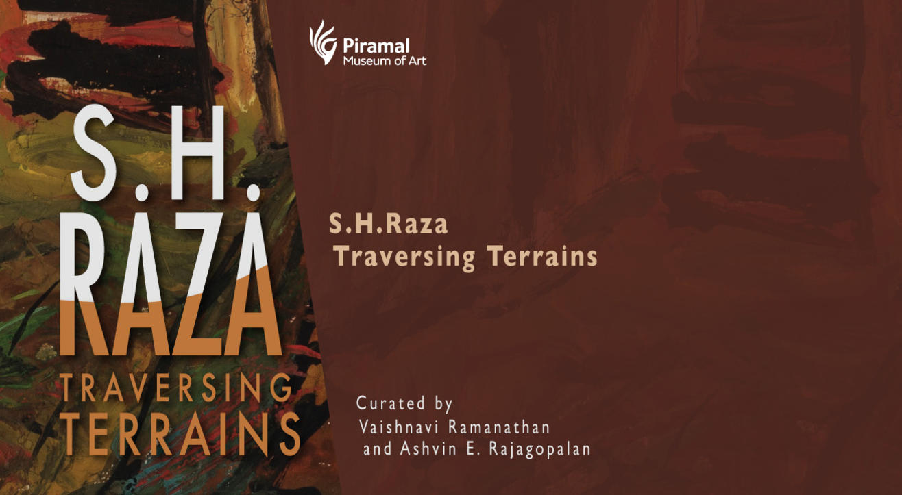 Guided tour in English of our exhibition 'S. H. Raza Traversing Terrains