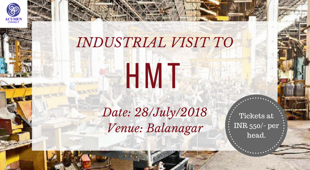 Industry Connect Program to HMT