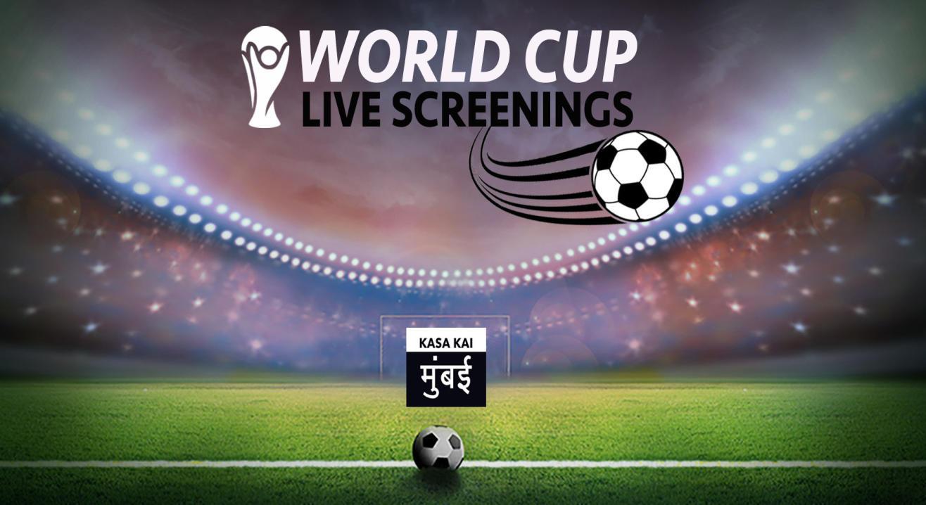 Football World Cup Live Screenings @Raasta Gurugram