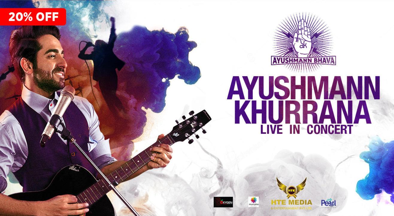 Ayushmann Khurana LIVE in concert