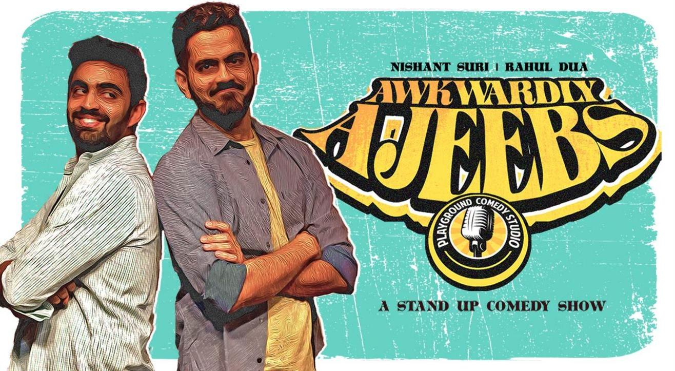 Awkwardly Ajeebs, A Multi-Artist Stand Up Comedy Show