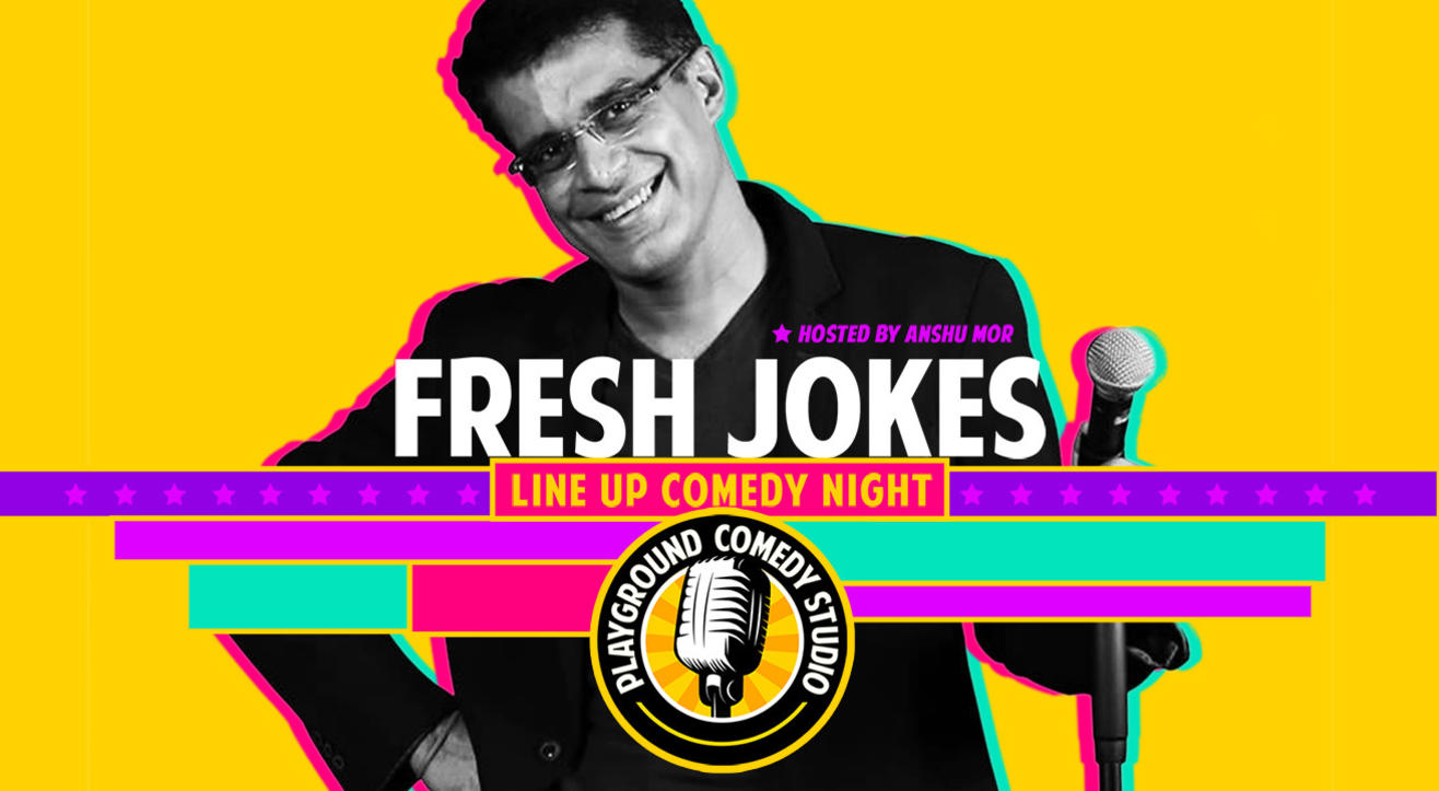 Fresh Jokes – A Line Up Comedy Night