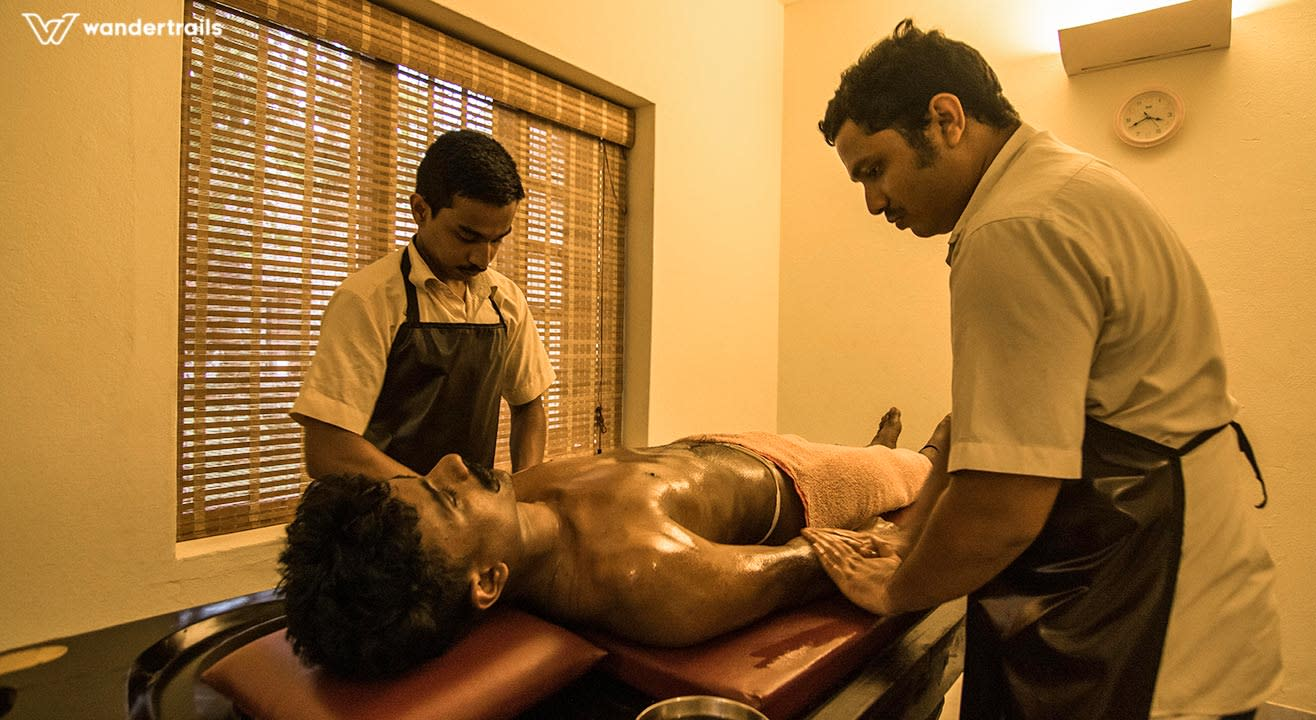 Ardhabhyanga - A half body massage in Munnar | Wandertrails