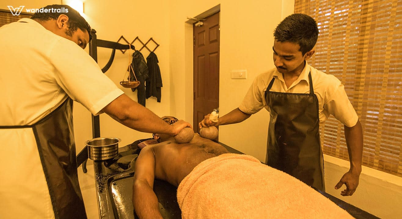 Healing with Podikkizhi - Ayurvedic massage in Munnar | Wandertrails
