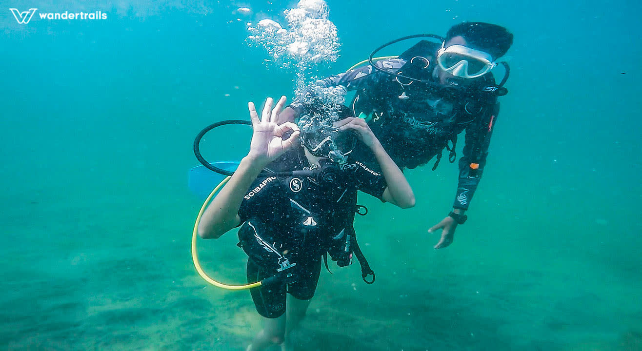 Wandertrails | Scuba diving in Kovalam