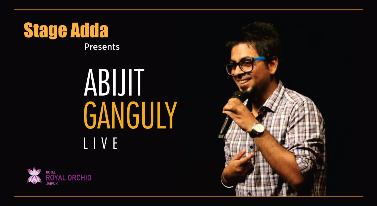Abijit Ganguly Live by Stage Adda in Jaipur