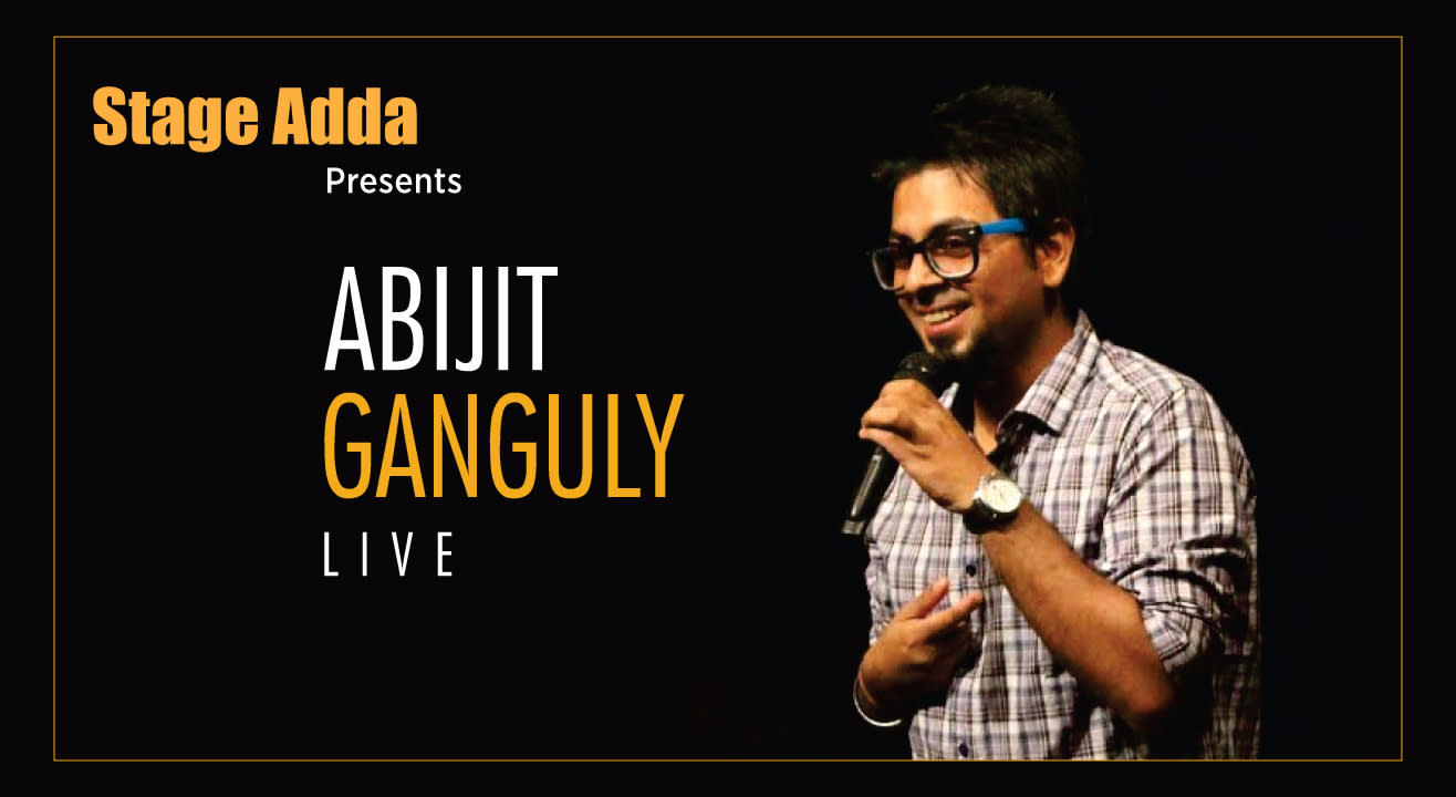 Abijit Ganguly Live by Stage Adda in Indore