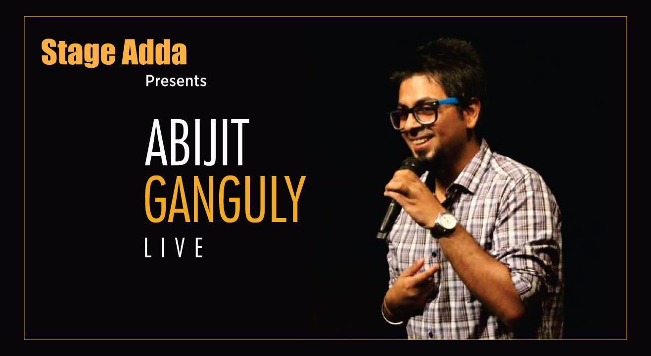 Abijit Ganguly Live by Stage Adda in Raipur