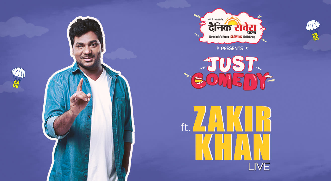 Just Comedy presents Zakir Khan, Ludhiana