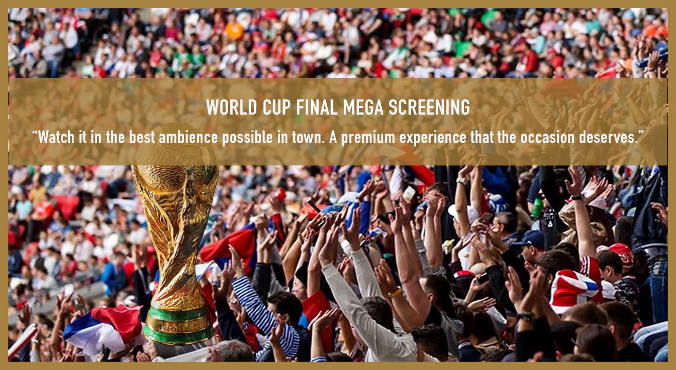 Football World Cup Final Mega Screenings!