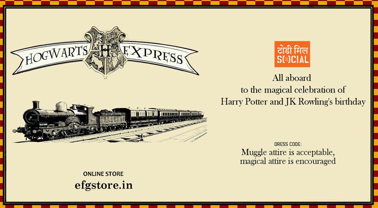 EFG Store x Social: Hogwarts Express