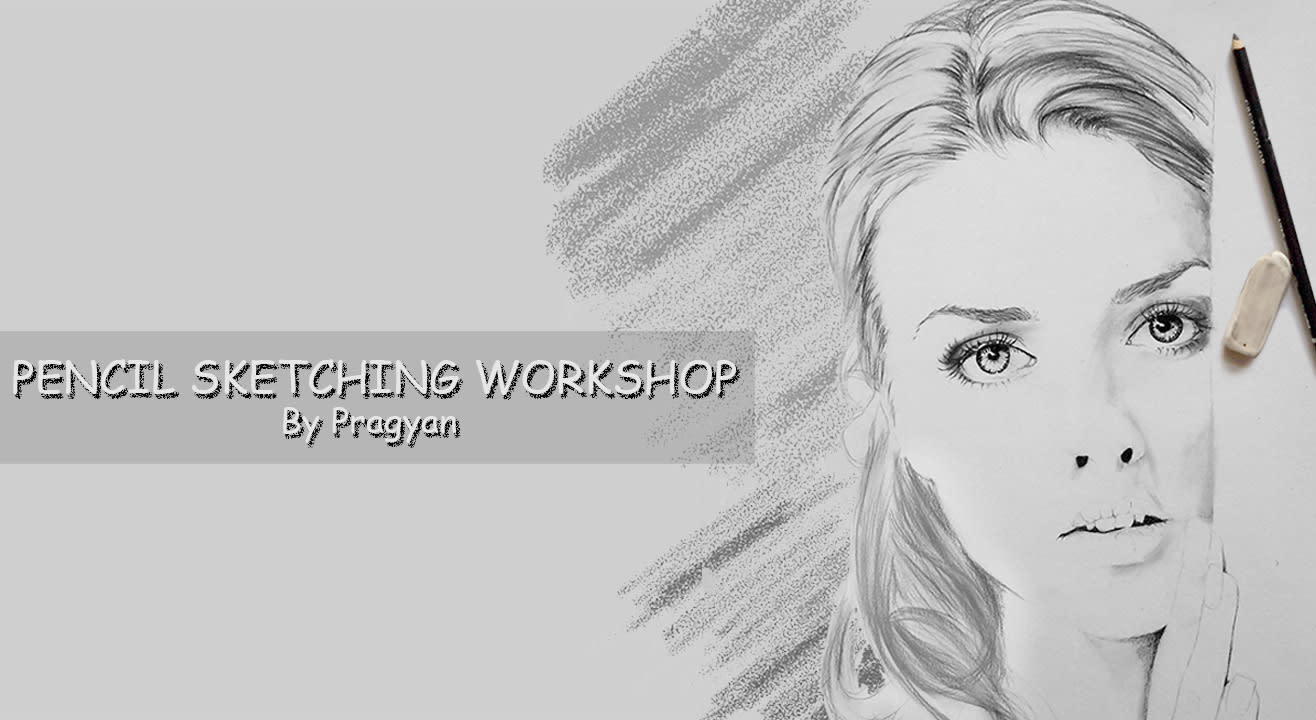 Pencil sketching workshop