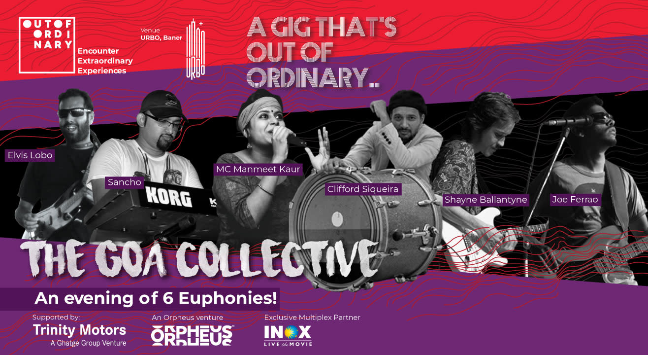 Out Of Ordinary presents The Goa Collective
