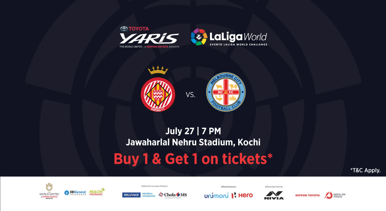 Toyota Yaris LaLiga World: Girona FC vs Melbourne City FC