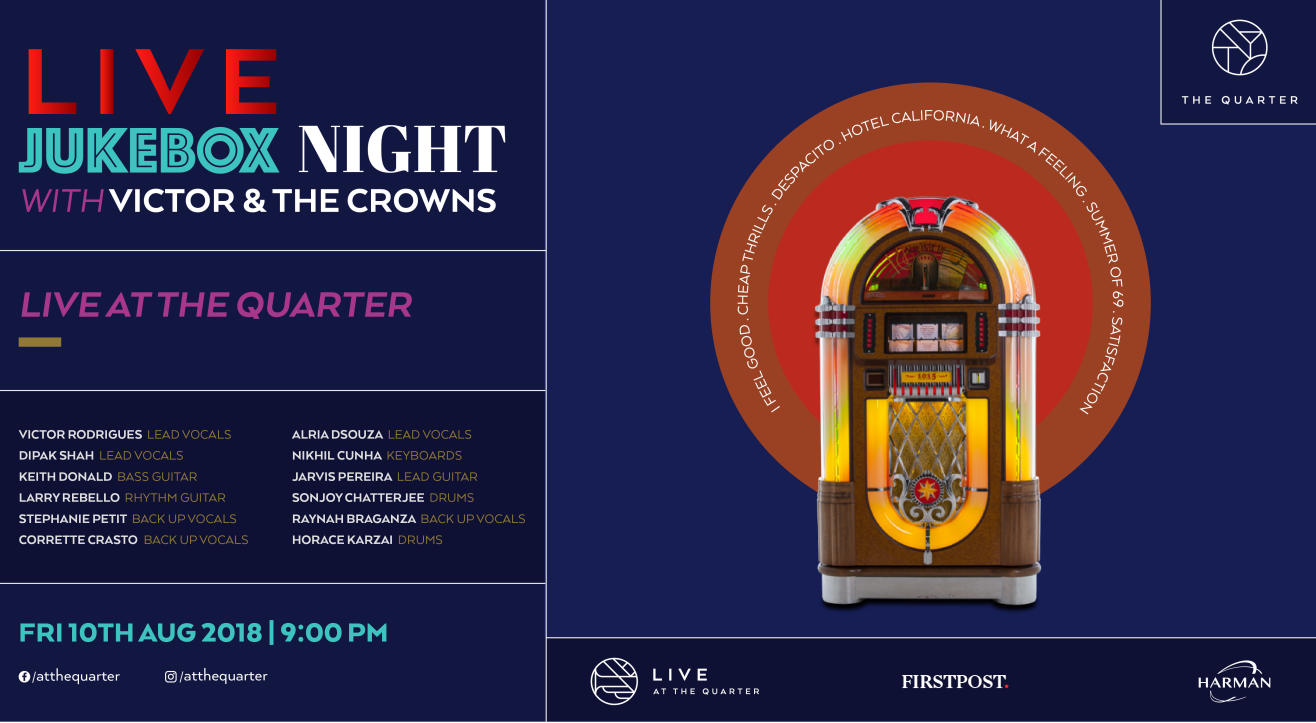 LIVE Jukebox Night with Victor and The Crowns