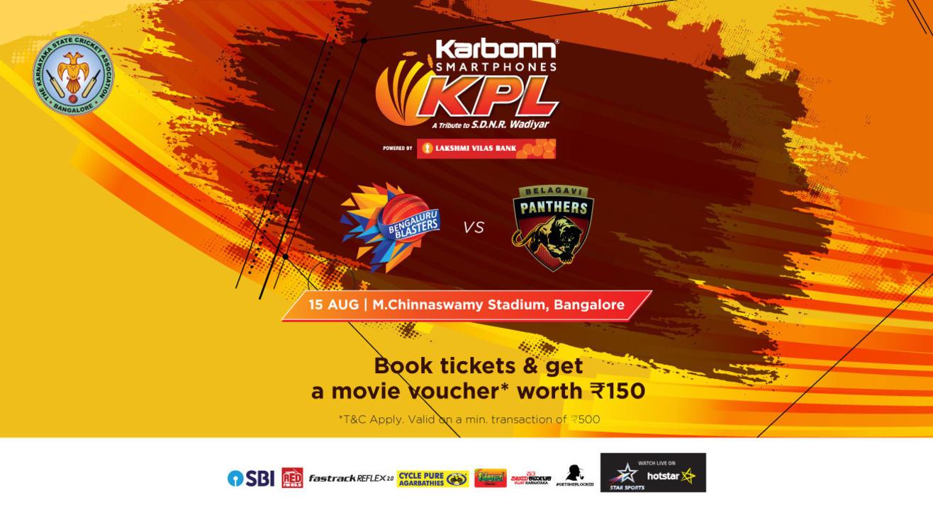 KPL 2018 | Bengaluru Blasters Vs. Belagavi Panthers